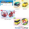 00150 - Little Bus TAYO Friends v.4 Mini Car 4 pcs Toy Set  Shine Air Kinder Peanut NEW