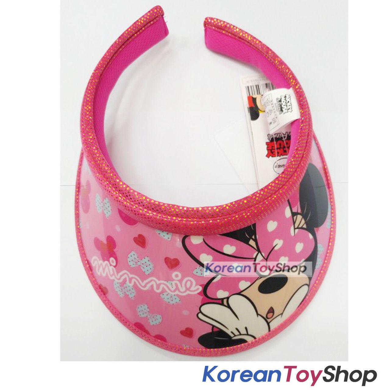 Disney Minnie Mouse Visor Hat Sun Cap Kids Girl Pink Original -  KoreanToyShop 13289e7aa2d8