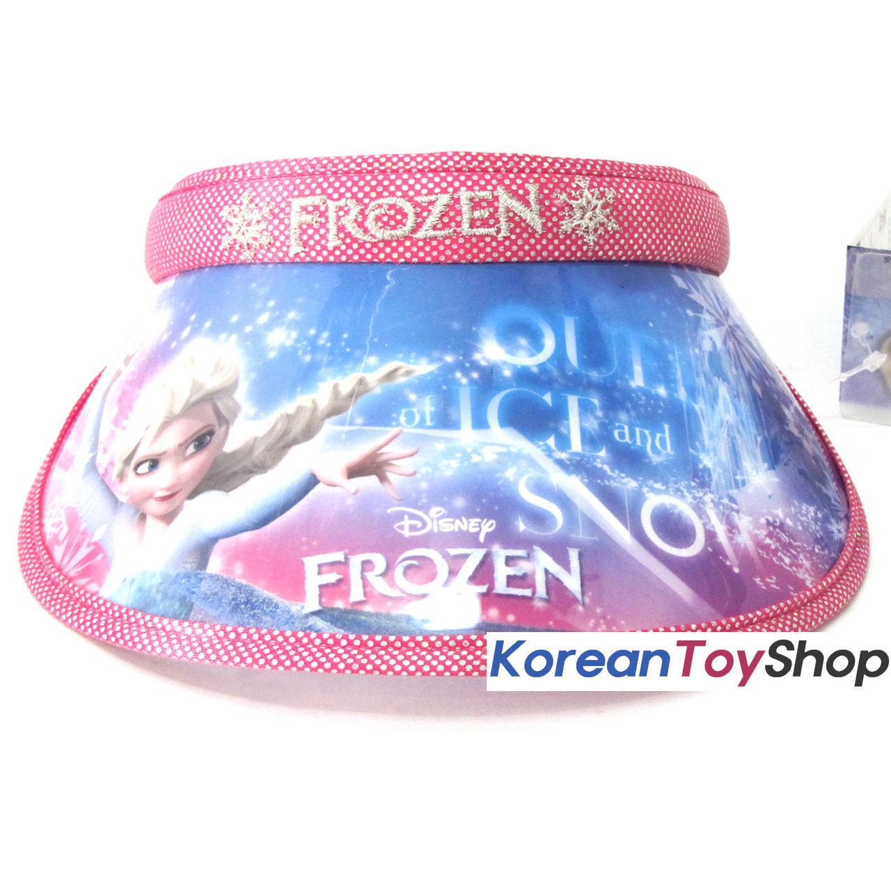6ad54c26d7057 ... Disney Frozen Visor Hat Sun Cap Kids Girl Pink Color Elsa Designed by  Korea
