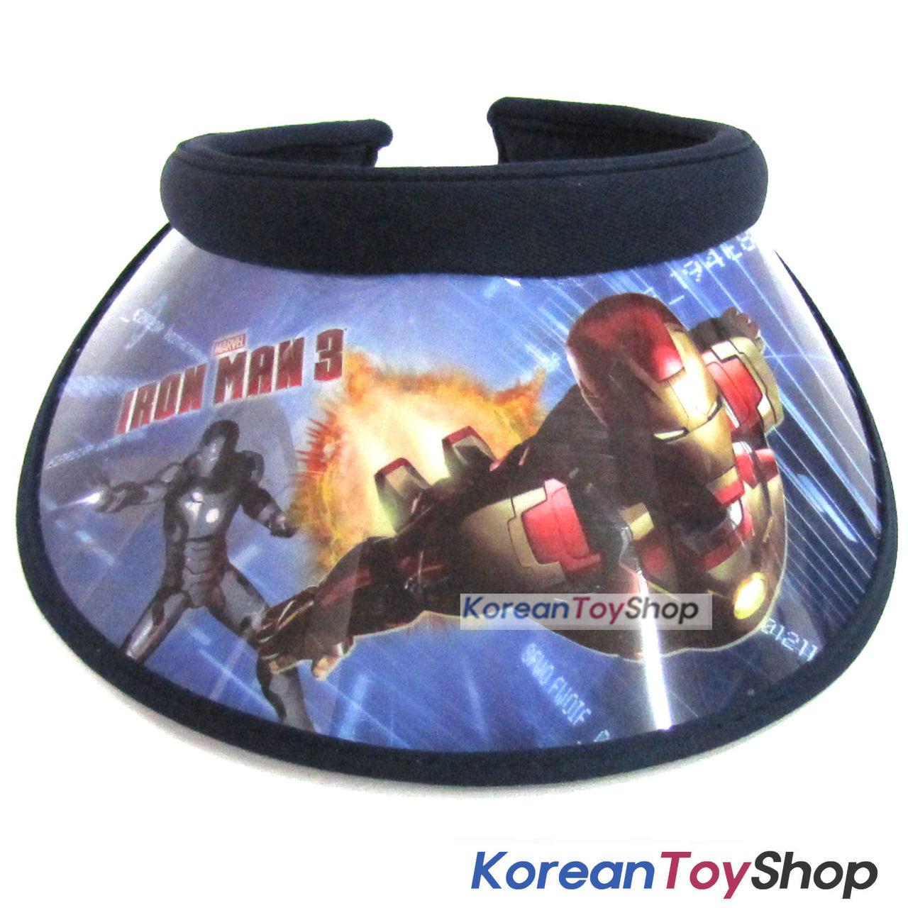 IRON MAN Visor Hat Sun Cap Kids Boy Designed by Korea Dark Blue -  KoreanToyShop db5b912f33fc