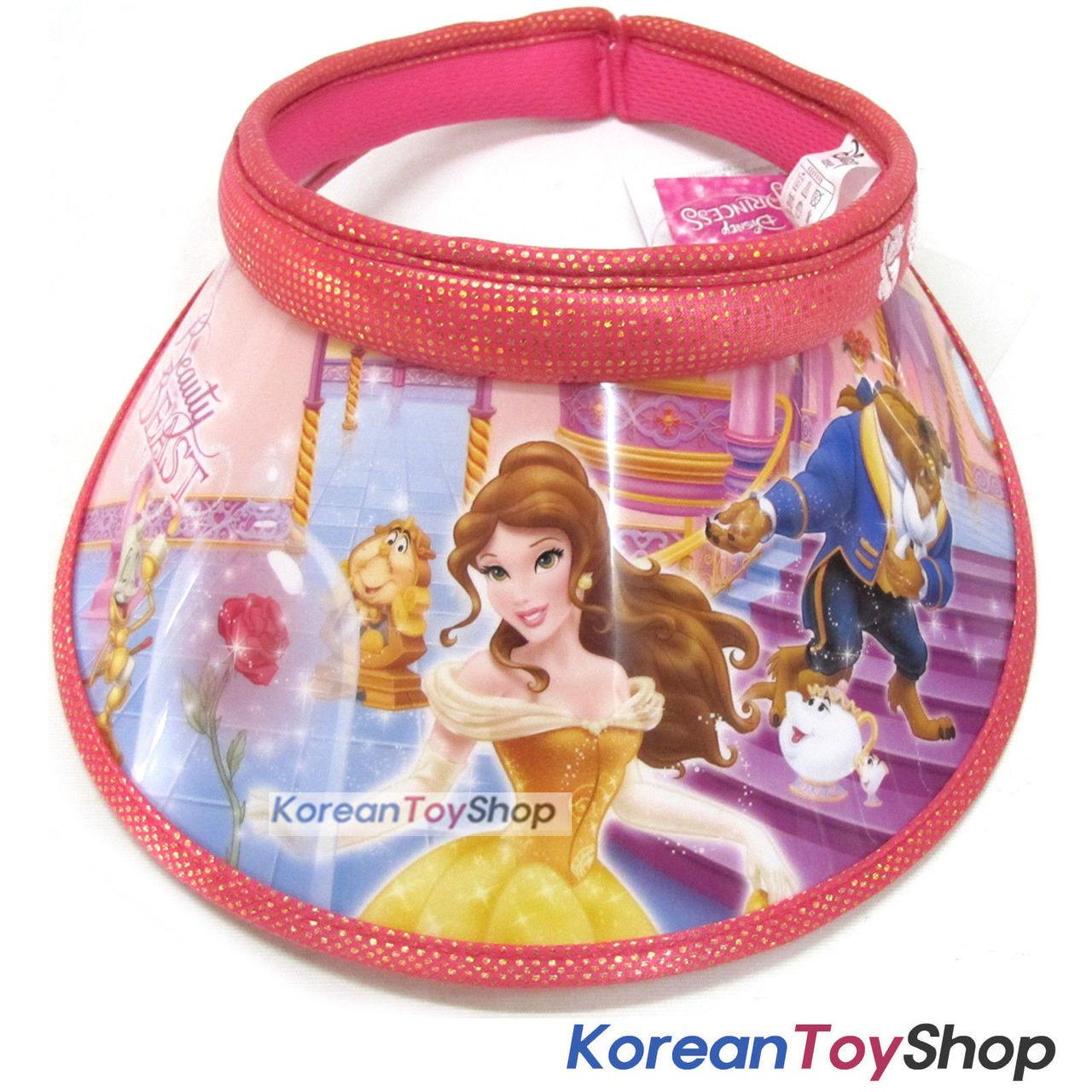 54c1aafa3f25c Disney Beauty and the Beast Visor Hat Sun Cap Kids Girl ROSE N.03 -  KoreanToyShop