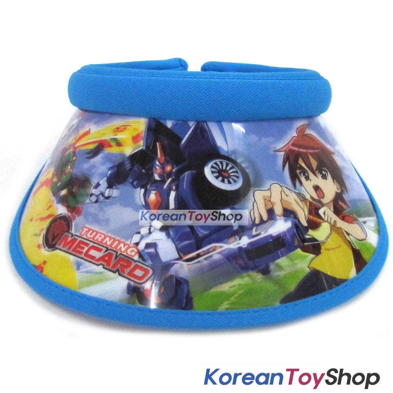 5ad46b89f4292 Turning Mecard Visor Hat Sun Cap Kids Boy Designed by Korea Evan Blue -  KoreanToyShop