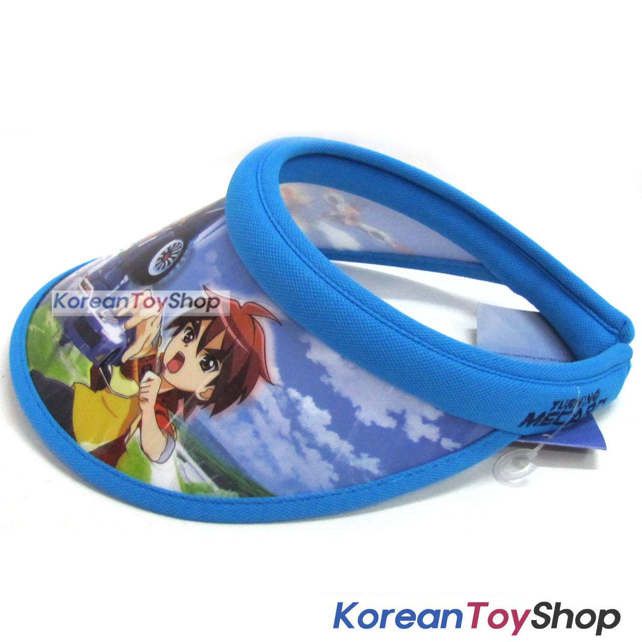 ... Turning Mecard Visor Hat Sun Cap Kids Boy Designed by Korea Evan Blue 38f0f279b4af