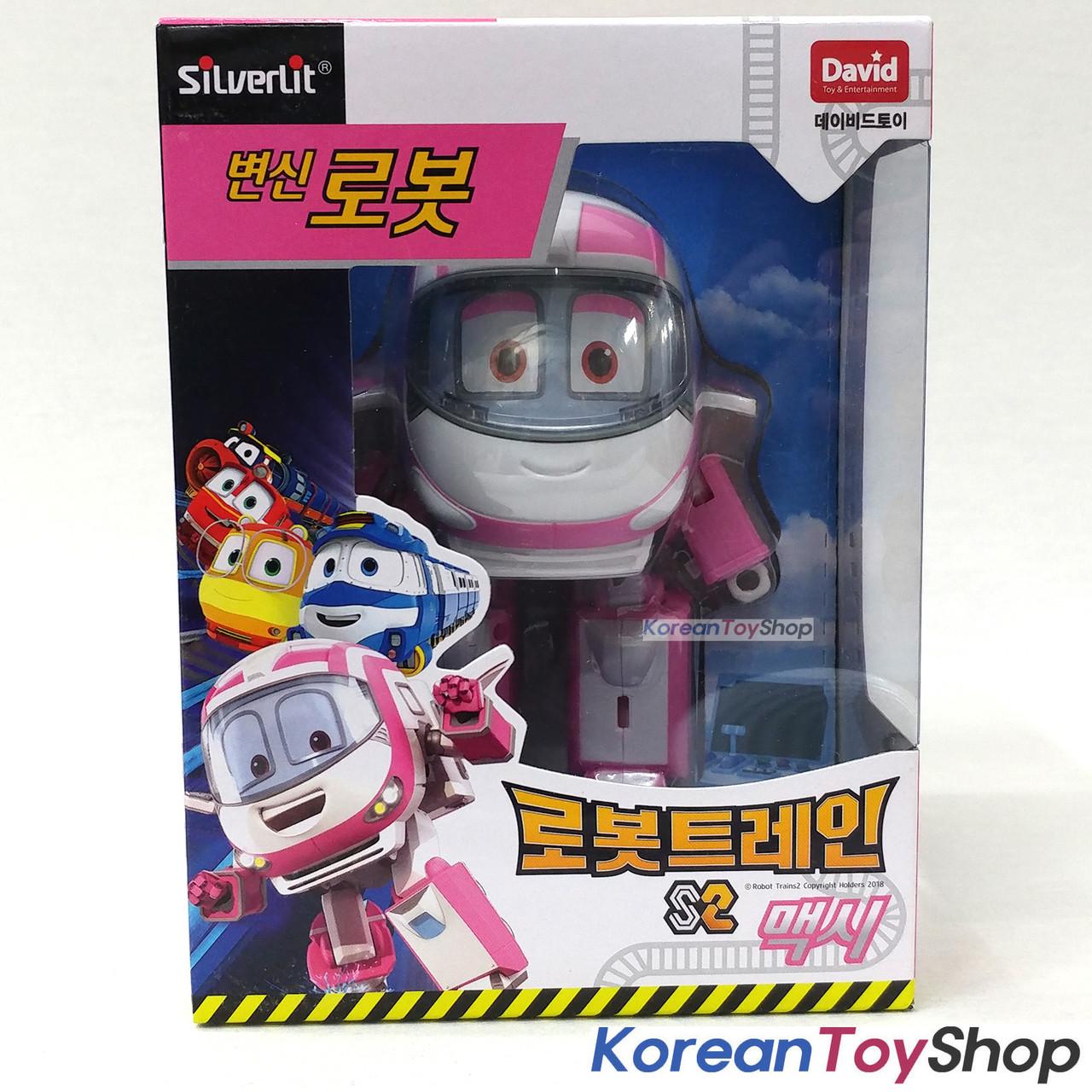 Robot Trains VICTOR Transformer Robot Transforming Toy Figure Season 2 Original