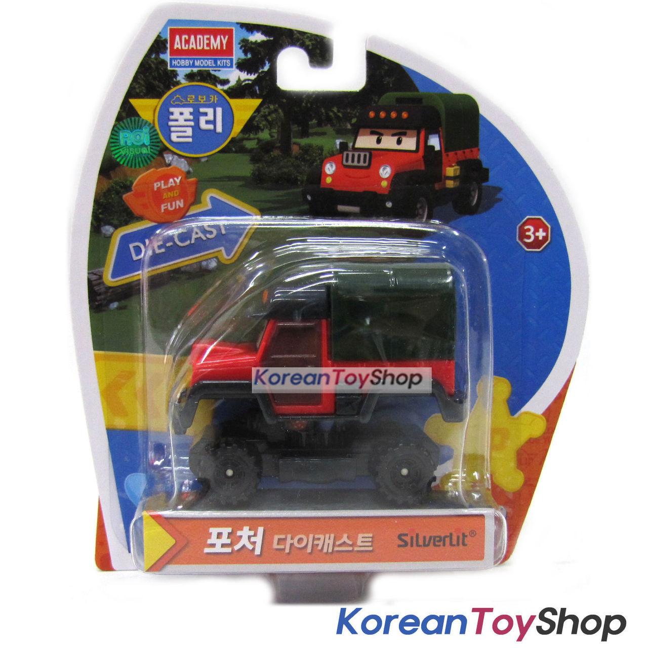 Genuine Silverlit Robocar Poli Diecast Cars Choose any 4 Cars