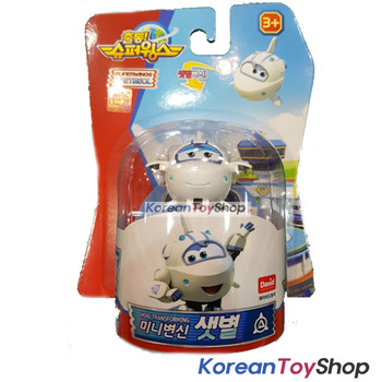 Super Wings Mini SAETBYEOL PIGU DOODOO 3 pcs Transforme​r Robot Toy Season 2 New