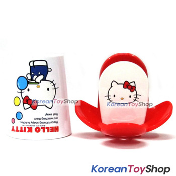 Hello Kitty Gargling Cup and Toothbrush Holder on Wall Set for Kids Children