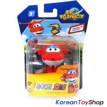 Super Wings Jett Mini 11 pcs Transformer Robot Toy Set w/ Season 2 New Models
