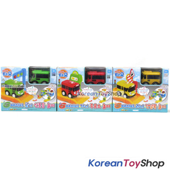 The Little Bus Tayo Mini Baby ROGI GANI RANI 3 pcs Toy Set Melody Effect