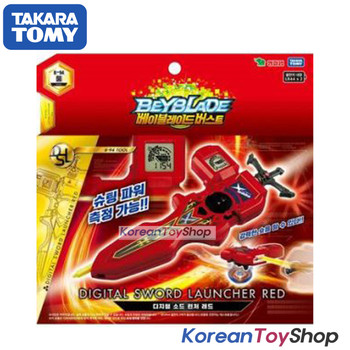 Beyblade Burst B-94 Digital Sword Launcher RED with Sword Winder Takara Tomy Original BOX
