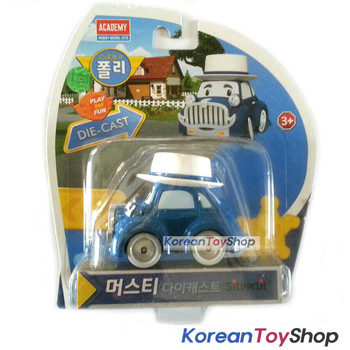 Robocar Poli MUSTY Diecast Metal Figure Toy Car Classic Car Academy Genuine