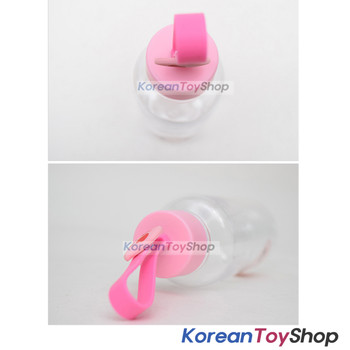 KAKAO Friends APEACH Silicone Handle Water Bottle 380ml Tritan M/ Korea Original