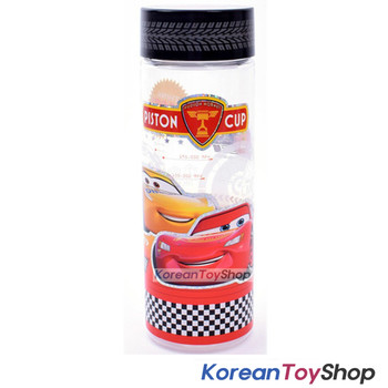 Disney Pixar Cars 3 Clear Simple Basic Water Bottle 500ml Tritan Korea Original