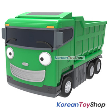 The Little Bus TAYO Diecast Plastic Car MAX Model Dump Truck Pull Back Gear