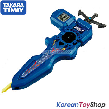 Beyblade Burst B-93 Digital Sword Launcher BLUE with Sword Winder Takara Tomy