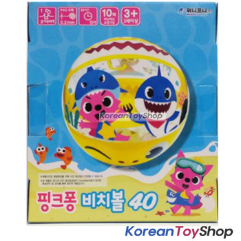 "PINKFONG Beach Ball 15.7"" Inflatable Swimming Poor Party Water Toy"