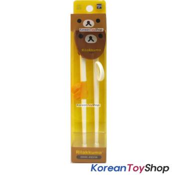 Rilakkuma Training Chopsticks for Kids Children Right Handed Made in Korea