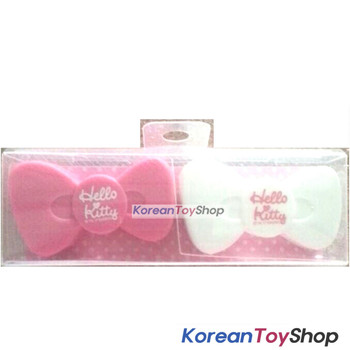 Hello Kitty cute Toothbrush Holder Stand for Bathroom Family Travel Couple 2pcs