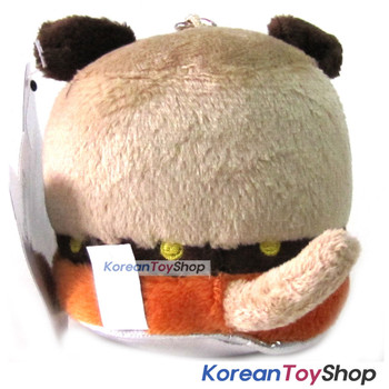 "Canimals ULY Model Key Ring Doll Plush Toy 3"" Figure Original"