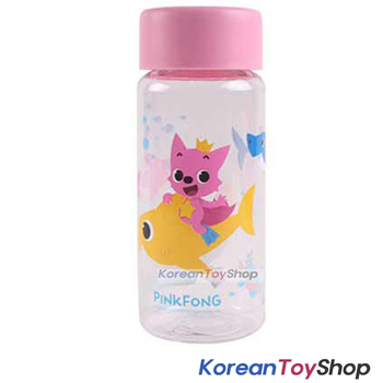 PINKFONG Cute Plastic Eco Water Bottle 380ml Made in Korea BPA Free Original