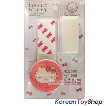 Hello Kitty cute Toilet seat cover lifter handle Hygienic Clean Avoid Touching