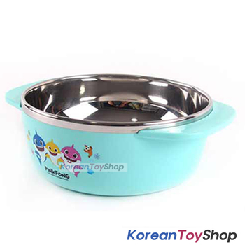 PINKFONG Stainless Steel Bowl 2 pcs Handle Non-slip BPA Free Original