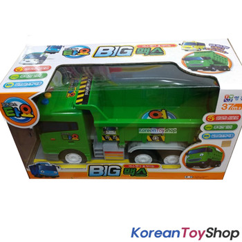 Little Bus Tayo BIG MAX Model Dump Truck Green Sound Effect Friction Gear