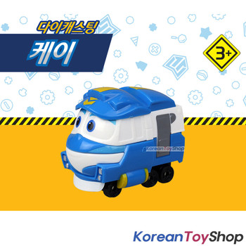"Robot Trains KAY Diecast Plastic Mini Toy Car Season 2 Original 2"" Series"