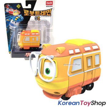 "Robot Trains GENIE Diecast Plastic Mini Toy Car Season 2 Original 2"" Series"