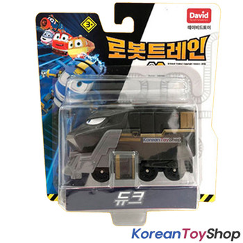 "Robot Trains DUKE Diecast Plastic Mini Toy Car Season 2 Original 2"" Series"