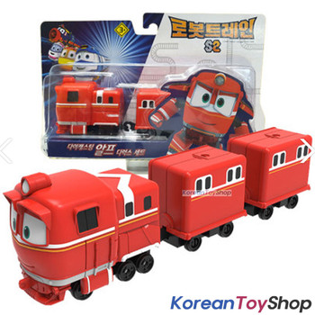 """Robot Trains ALF Deluxe Diecast Plastic Mini Toy Car Season 2 Original 2"""""""