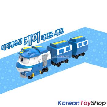 "Robot Trains KAY Deluxe Diecast Plastic Mini Toy Car Season 2 Original 2"""