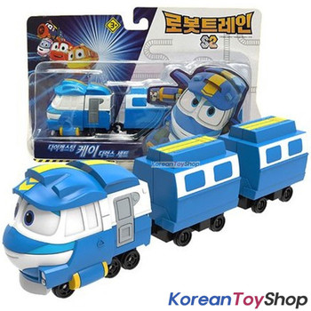 Robot Trains Kay Alf Victor Deluxe Diecast Plastic 3 pcs Set Mini Toy Season 2