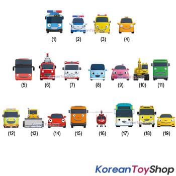00300 Tayo Little Bus Friends Special 19 pcs Mini Car Set Police Tayo Version Iconix