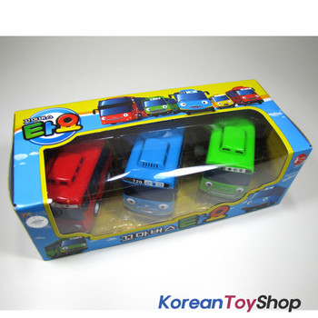The Little Bus TAYO Bus Wind up Toy A Set(3 Cars-Tayo, Rogi, Gani)