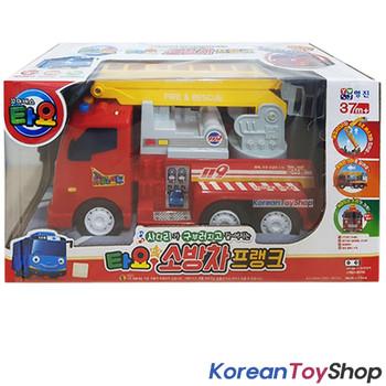 Tayo Little Bus Friend Big FRANK Fire Ladder Truck Engine Toy Car Original