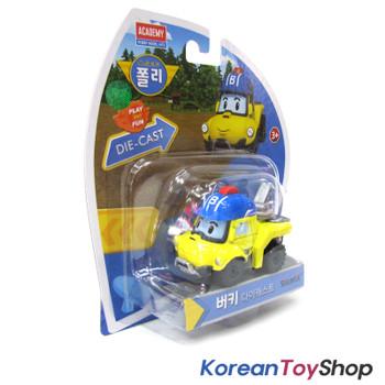 Robocar Poli BUCKY Diecast Metal Figure Toy Car Tow Truck Academy Genuine