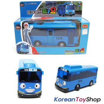 The Little Bus TAYO Diecast Metal Toy Car / Tayo Model, Blue Bus Full Back Gear