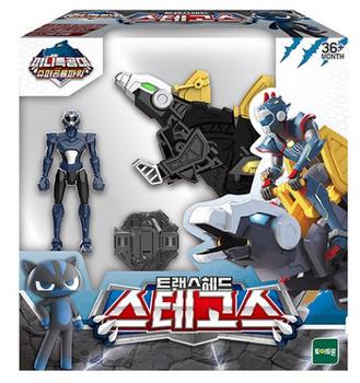 Miniforce Trans Head STEGOS Transformer Toy & Figure