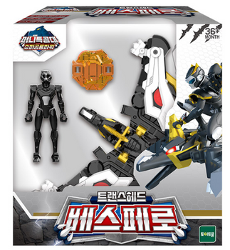 Miniforce Trans Head VESPERO Transformer Toy & Figure