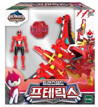 Miniforce Trans Head PTERYX Transformer Toy & Figure Red