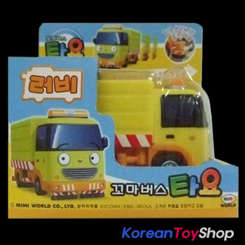The Little Bus TAYO Diecast Plastic Mini Car Toy Ruby Model Garbage Truck