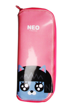 Kakao Friends NEO Cutlery Case w/ Zipper for Spoon Fork