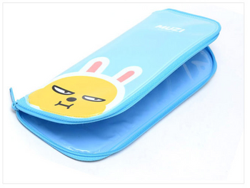 Kakao Friends MUZI Cutlery Case w/ Zipper for Spoon Fork
