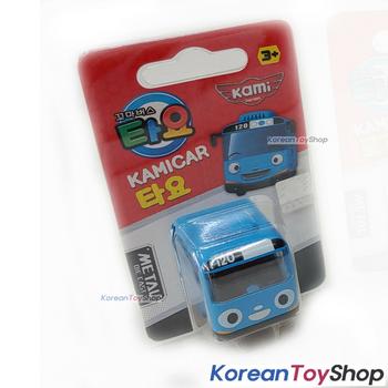 Tayo Little Bus TAYO Model Cute Mini Diecast Metal Bus Toy Car Kamicar Blue Bus