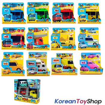 The Little Bus TAYO Diecast Plastic Toy Car Full Set 14 cars New All Collections