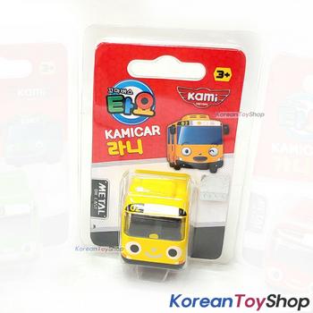 Tayo Little Bus RANI Model Cute Mini Diecast Metal Bus Toy Car Kamicar Yellow