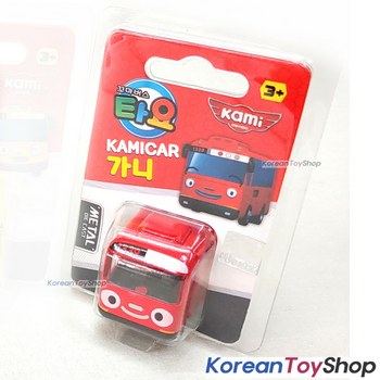 Tayo Little Bus GANI Model Cute Mini Diecast Metal Bus Toy Car Kamicar Red Bus