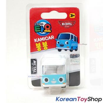 Tayo Little Bus BONGBONG Model Cute Mini Diecast Metal Bus Toy Car Kamicar