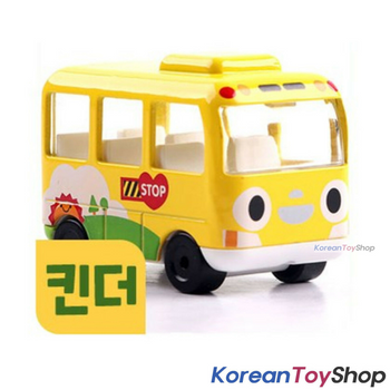 Tayo Little Bus KINDER Model Cute Mini Diecast Metal Bus Toy Kindergarten Bus